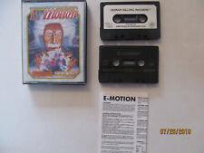 ULTRA RARE Amstrad Cassette GAME - E MOTION (Einstein) Cpc 464 BRAND NEW SEALED