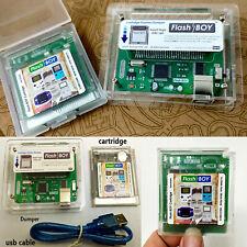 Flash Boy Dumper Burner Cart Cartridge W/USB Cable for Nintendo Game Boy GB/GBC
