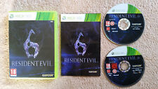 Resident Evil 6 Xbox 360 / complet