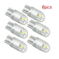 6*  T10 LED light bulbs Car interior Reading Light 12V 3030 SMD 194 168 W5W Bulb