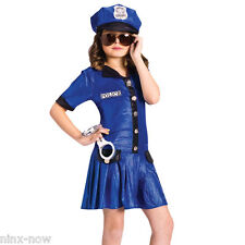Costumes for All Occasions Fw110752lg Large Police Girl Child.