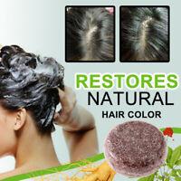 Darkening Shampoo Bar Polygonum Essence Soap Hair Shampoo Gray Hair Reverse