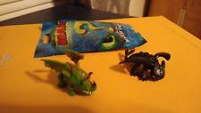 Train your Dragon the hidden world mystery blind mini Toothless  & skullcrusher