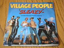 "VILLAGE PEOPLE-SLEAZY 7"" vinyle PS"