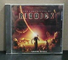 Chronicles Of Riddick - Original Soundtrack    (CD)    LIKE NEW     DB 2703