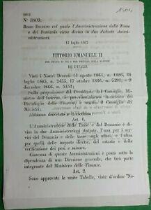 REGIO DECRETO AMMINISTARZIONE TASSE DEL DEMANIO-1504