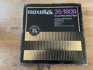 MAXELL UD XL 35-180B SOUND RECORDING TAPE...LIVE EDDIE MONEY+ RICHIE BLACKMORE