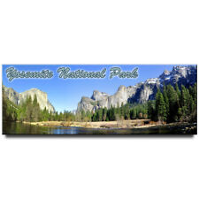 Yosemite National Park panoramic Fridge magnet California travel souvenir