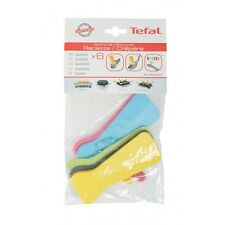 Tefal kit 6 palette spatole colorate Raclette Pietra Ollare PR3011 RE12 RE13 RE