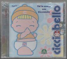 FAI LA NANNA CON CICCIOBELLO CRISTINA D'AVENA CD EDITORIALE NUOVO!!!