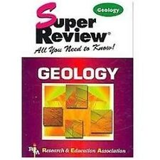 Super Reviews Study Guides: Geology by Steven Baumann and Research and Education
