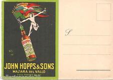 JOHN HOPPS & SONS-PRODUZIONE MARSALA -MAZZARA DEL VALLO