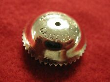 Campagnolo Nuovo Record Steel Pedal Dustcap Pair NOS - gorgeous new!