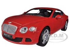 2011 BENTLEY CONTINENTAL GT RED 1/18 DIECAST CAR MODEL BY MINICHAMPS 100139922
