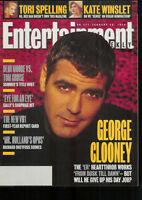 GEORGE CLOONEY 1996 EW magazine ELIZABETH TAYLOR LIZ Tori Spelling KATE WINSLET