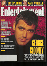 GEORGE CLOONEY 1996 magazine ELIZABETH TAYLOR LIZ Tori Spelling KATE WINSLET