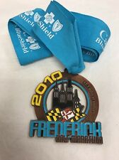 2010 Frederick Half Marathon Finisher Medal and Ribbon 13.1 Maryland