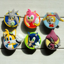 5pcs Action Figure PVC Shoe Charms Ornament for Shoes with holes Party Gift
