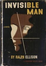 THE INVISIBLE MAN-RALPH ELLISON-1ST ED W/DJ-NICE COPY OF A PIVOTAL WORK!