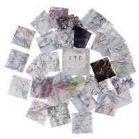 40Pcs/box Texture Label Stickers Scrapbooking DIY Diary Album Journal Sticker_HC