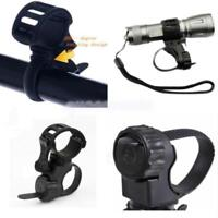 New Universal Bicycle Flashlight Torch Handle Bar Holder Mount Clamp Mounting Q