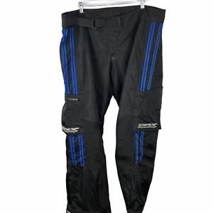 Fly Racing Racewear Pant Mens size 42 Motocross  104096 Free Ride Black Blue