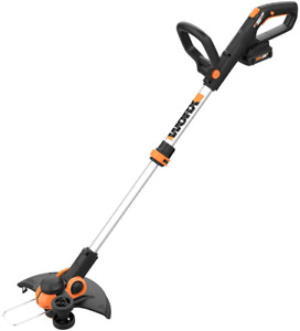 """Worx 12"""" 20V Li-ion Cordless Powerful Grass Weeds Lawn Trimmer Edger Weed Eater"""