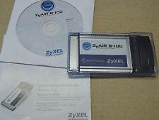 réseau Wi-Fi WIFI - ZyAIR B-100 Wireless LAN PC Card IEEE 802.11b ZyXEL PCMCIA