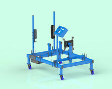 Engine Run Stand DIY Plans - Professional Plans with 3D Assemblies
