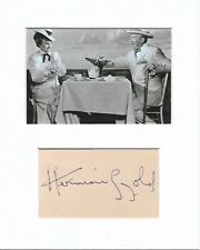 Hermione Gingold Gigi authentic hand signed autograph signature AFTAL COA