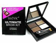 Technic Ultimate Brow Eyebrow Kit - Powders, Wax, Brush & Tweezers