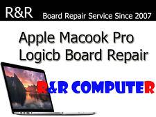 "APPLE MACBOOK PRO A1286 820-3330-B 15"" 2012 LOGIC BOARD REPAIR NEW CHIPSET"
