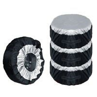 4pcs Universal 13-19inch Car SUV Wheel Bag Tire Tyre Spare Storage Cover Tote