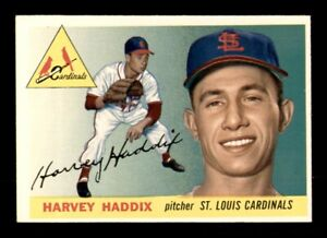 1955 Topps Set Break # 43 Harvey Haddix EX *OBGcards*