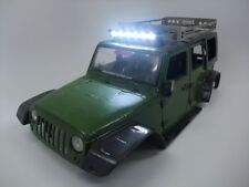 New Bright Jeep Wrangler Unlimited Hard Body LED Lights 1:10 Scale SCX10