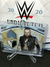 2020 Topps WWE Undisputed Aleister Black Dual Relic Gold #/10