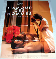 L'AMOUR DES HOMMES Hobb Errjel  photographie Hafsia Herzi Tunisia GRANDE AFFiCHE