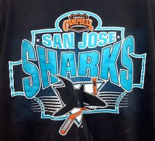 Vintage 90's NHL San Jose Sharks Hockey Campbell Conference T Shirt XL