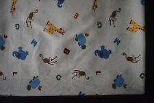 ABC Jungle Animal Baby bassinett flat sheet set of 2 - handmade