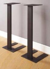 New listing Speaker Stands Studio Monitors 28� New In Box Black Steel Vintage Audio Stereo
