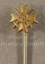 97798: KVK 2.Klasse mit Schwertern, Miniatur 9 mm an Nadel, Kriegsverdienstkreuz