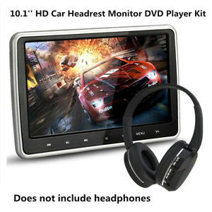 "10.1"" Digital TFT LCD Screen Car DVD Player Headrest Monitor& Remote Control Kit"