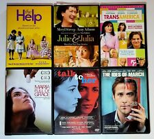 The Help, Trans America, Julie & Julia, Maria Full Of Grace, Talk To Her. Dvd