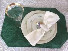 Vintage Set Of 8 White Duck Goose Ceramic Napkin Rings Holders