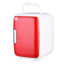 4L Freezer Warmer Mini Fridge Refrigerator Portable Cooler Auto Car Home Office
