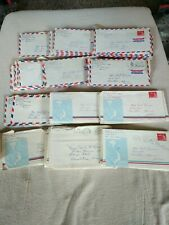 Lot of 90+ Vietnam War Letters Us Air Force 20th Helicopter Squadron 1966 -1967