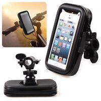 Motorcycle Bike Handlebar Holder Mount Waterproof Bag Case For Cell Phone KI