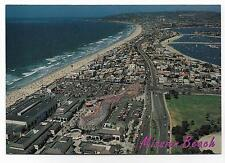 AERIAL VIEW OF MISSION BEACH & THE ROLLER COASTER~SAN DIEGO,CA