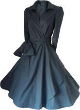 Vestido de noche de mujer de color principal negro talla 40
