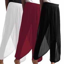 2017 Celmia Plus Size 8-24 Women Casual Loose Chiffon Pants Dress Harem Trousers